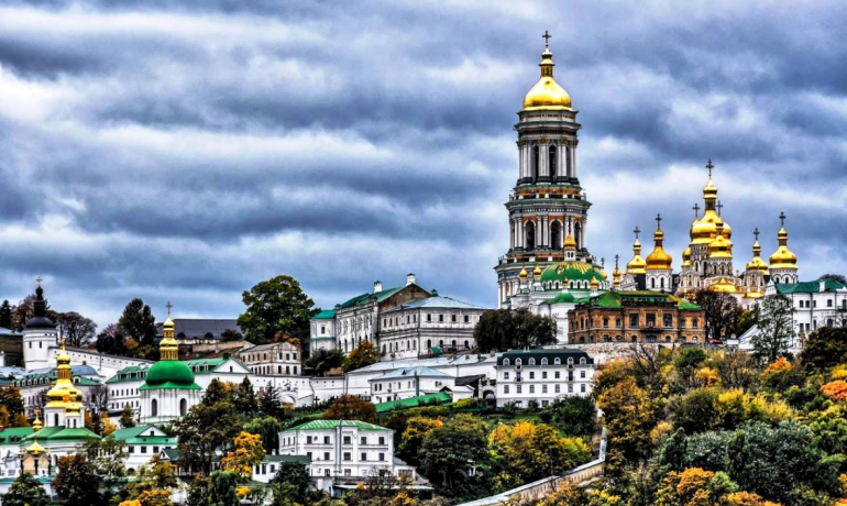Киевский Софийский собор и Киево-Печерская лавра