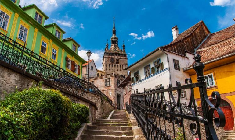 Чем может удивить туриста Сигишоара, Румыния