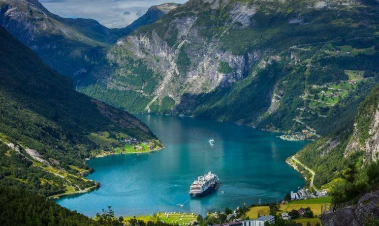 Норвегия: природа и красивые фьорды