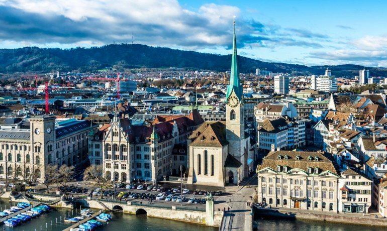 Цюрих, Швейцария – банковская столица мира