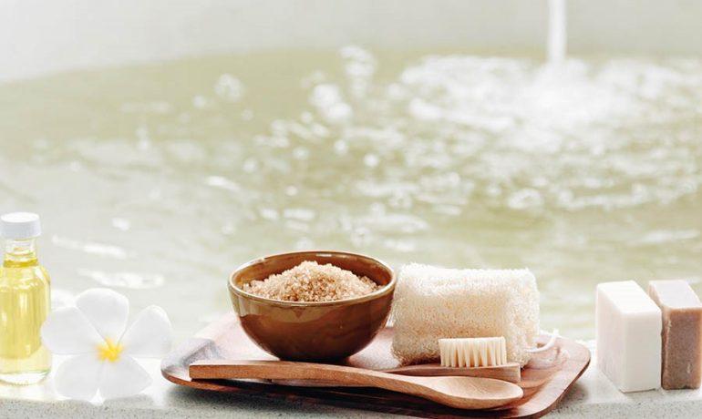 Приготовление соли для ванн