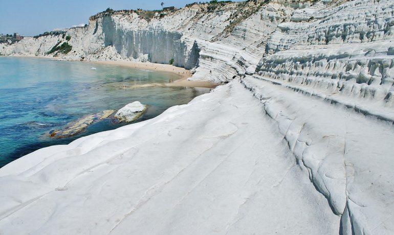 Скала-дей-Турки - кусочек Антарктиды на юге Европы