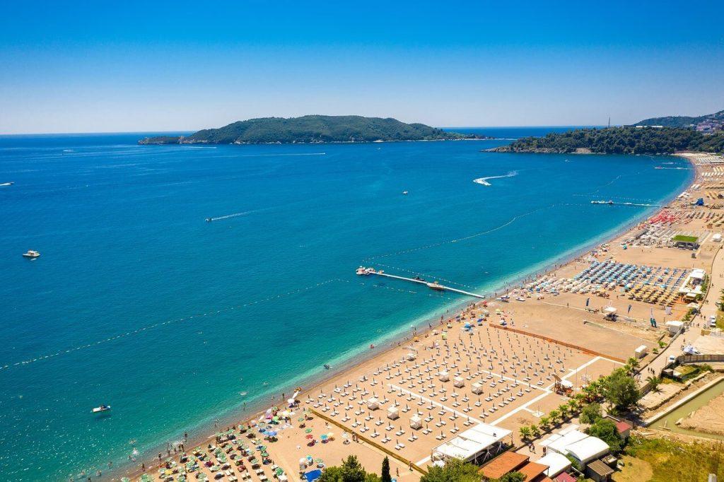 Пляжные оздоровительный отдых в Черногории