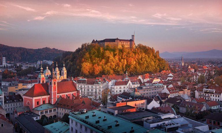 Восемь архитектурных чудес Любляны