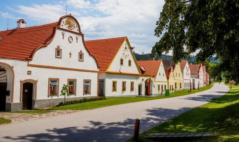 Историческое село Голашовице, Чехия