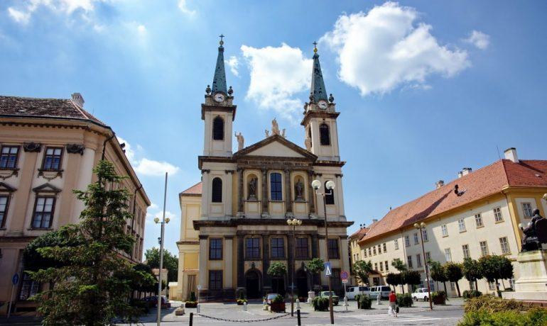 Сомбатхей в Венгрии. Город, граничащий с Австрией