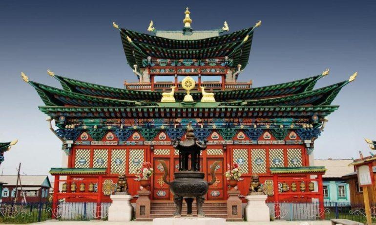 Иволгинский дацан - буддийская духовная столица России