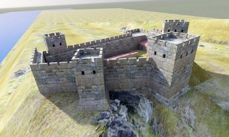 Достопримечательности Крыма: Кутлакская крепость (Асандра)
