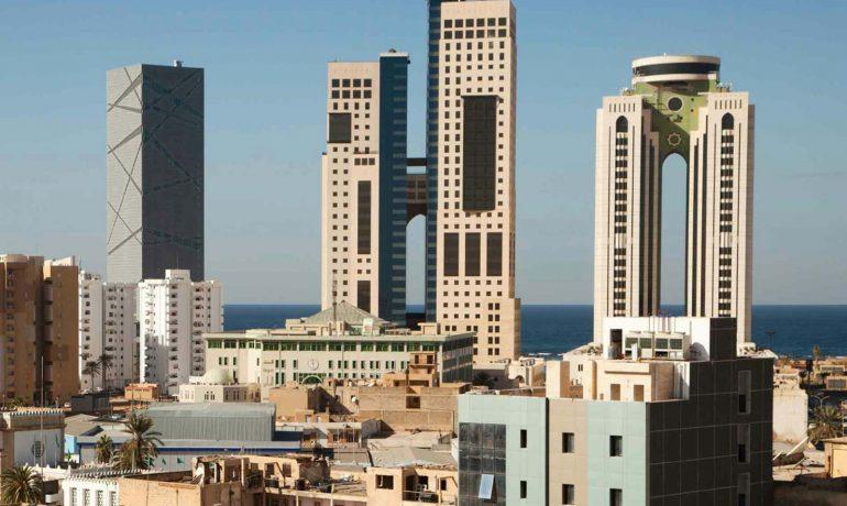 Ливия - африканская страна, омываемая Средиземным морем