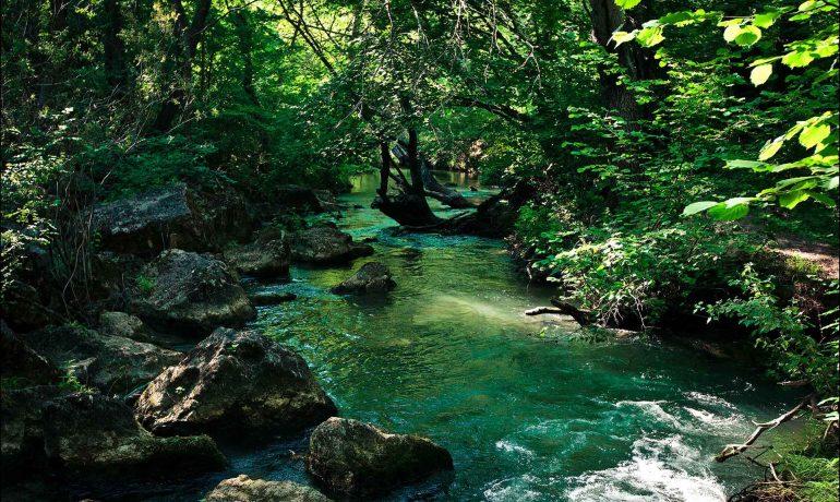 Достопримечательности Крыма: Черная речка