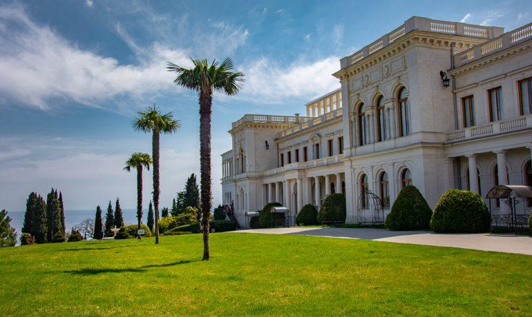 Исторический поселок Ливадия в Крыму