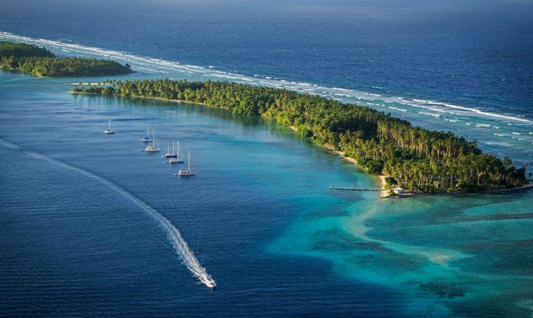 Маршалловы острова - два архипелага и тысячи нетронутых островков