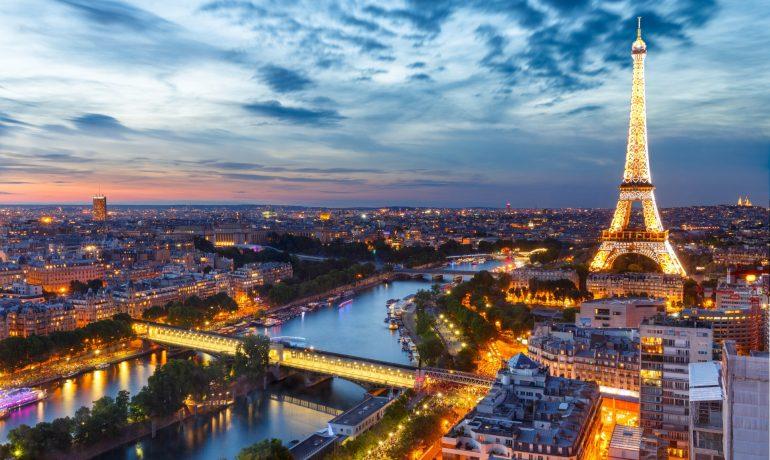 Париж - самый романтичный город Европы