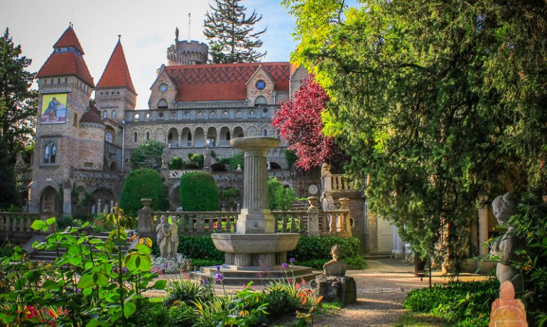 Легендарный замок Бори в городе Секешфехервар, Венгрия