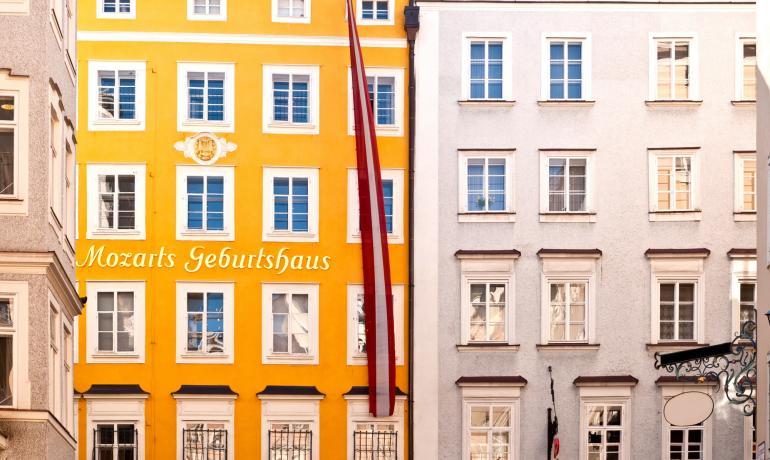 Дом Моцарта в Зальцбурге, Австрия