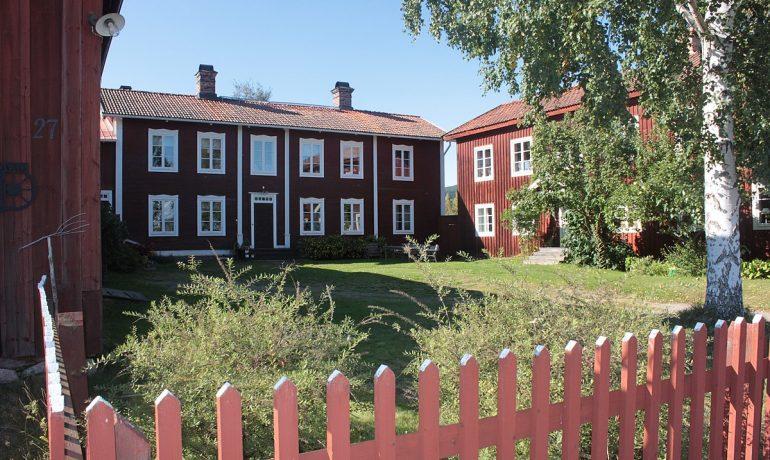 Декорированные фермы Хельсингленда, Швеция