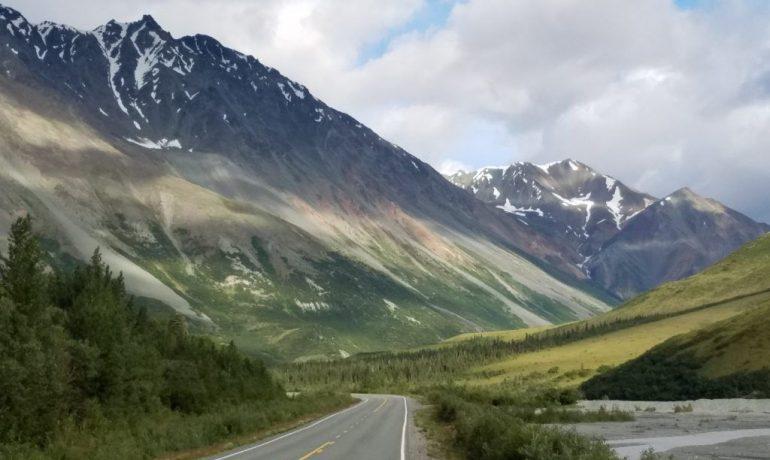 Путешествие по США: Делта-Джанкшен, Аляска