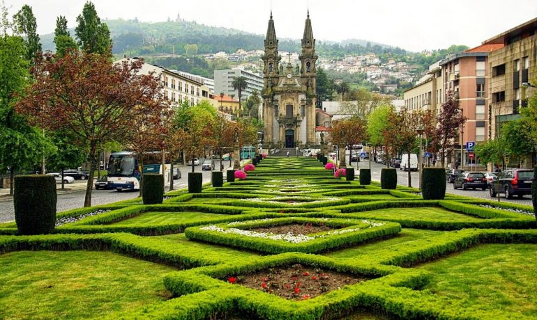 Исторический центр Гимарайнш, Португалия