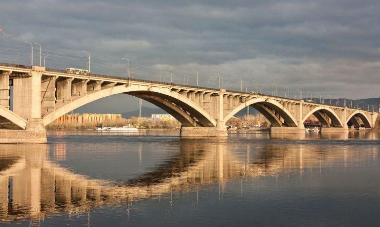 Мост через Енисей, Красноярск: история строительства и интересные факты