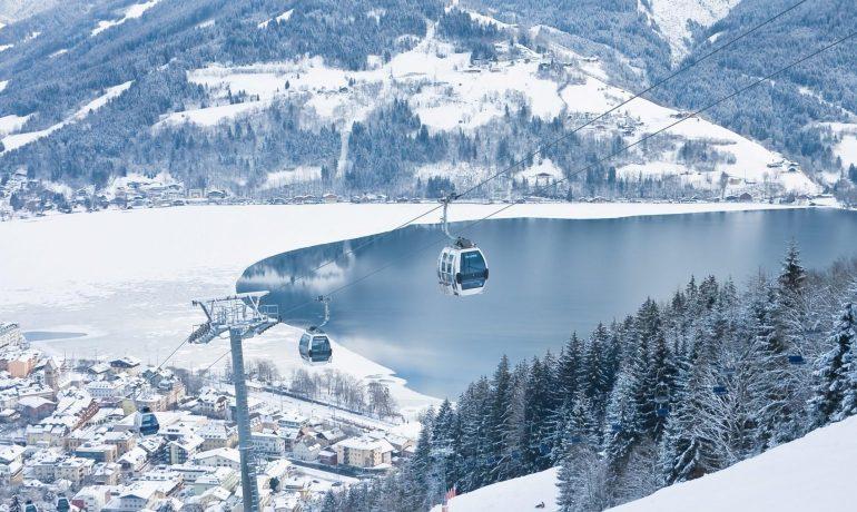 Зимний курорт Цель-ам-Зее, Альпы
