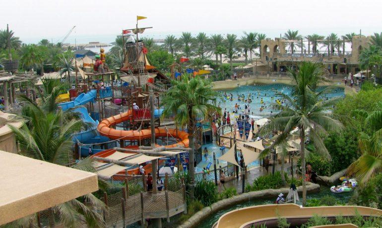 Отели Дубая рядом с аквапарками. Аквапарк Wonderland