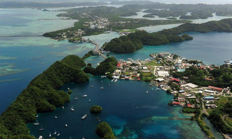Микронезия. Республика, состоящая из множества маленьких островов