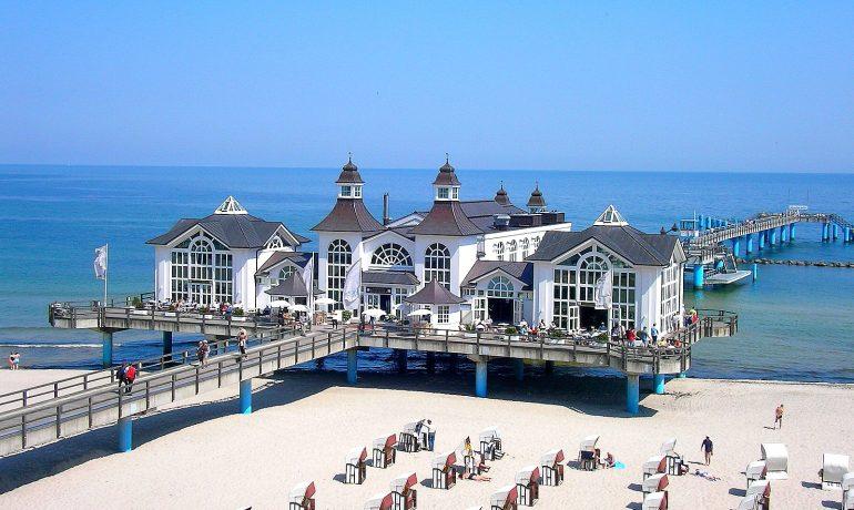 Зеллин на острове Рюген, Германия: исторический курорт на море