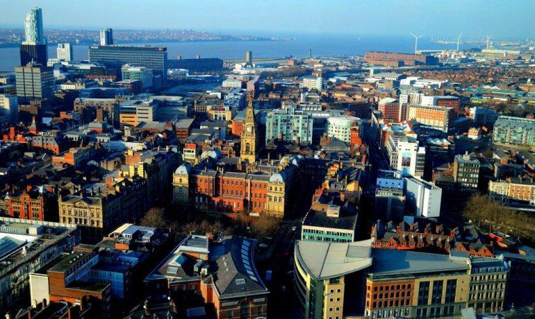 Ливерпуль, Великобритания — морской торговый город