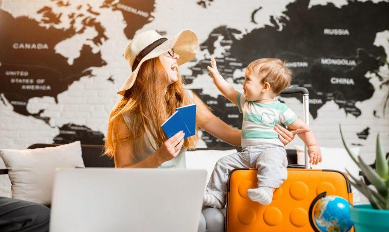 Какой транспорт выбрать во время путешествий с ребёнком