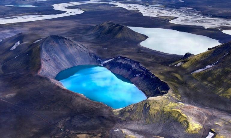 Топ-5 вулканических кратеров Исландии