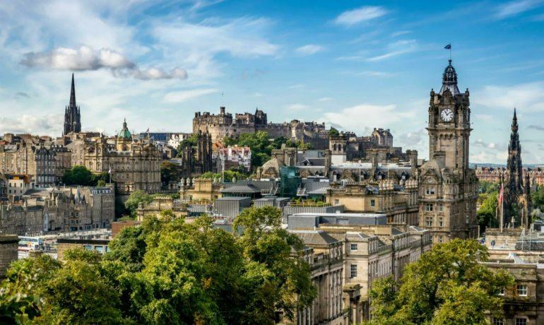 Путешествие в Эдинбург, Шотландия