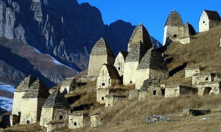 Путешествие по Северной Осетии: город мёртвых