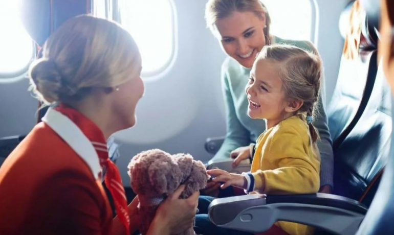 Полёт на самолёте с ребёнком