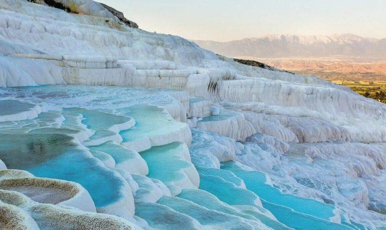 Памуккале, Турция — лечебный курорт и природный памятник