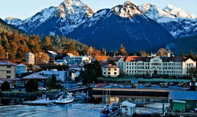 Путешествие по США: город Ситка, Аляска