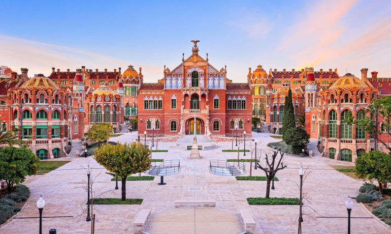 Дворец каталонской музыки и госпиталь Сан-Пау, Испания