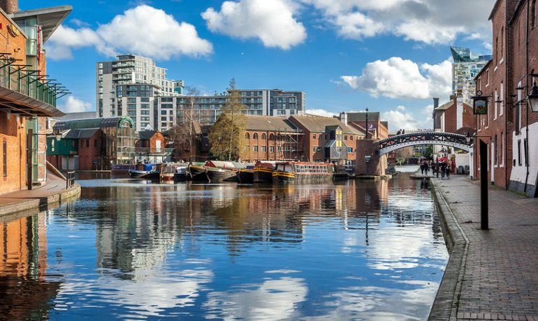 Путешествие по Великобритании: город Бирмингем
