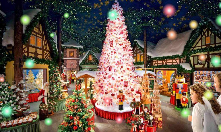 Праздничная искра. Романтический период в ожидании рождества в Германии