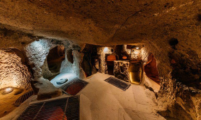 Подземный город Деринкую. Краткое описание таинственного поселения