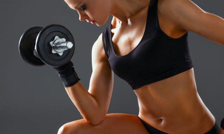 Гантели женские: как выбрать вес