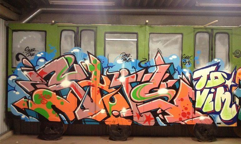 Граффити-бомбинг: экстремальный вид спорта или вандализм?