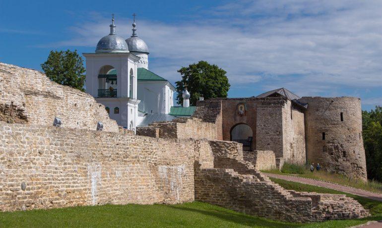 Изборская крепость. Псковская область