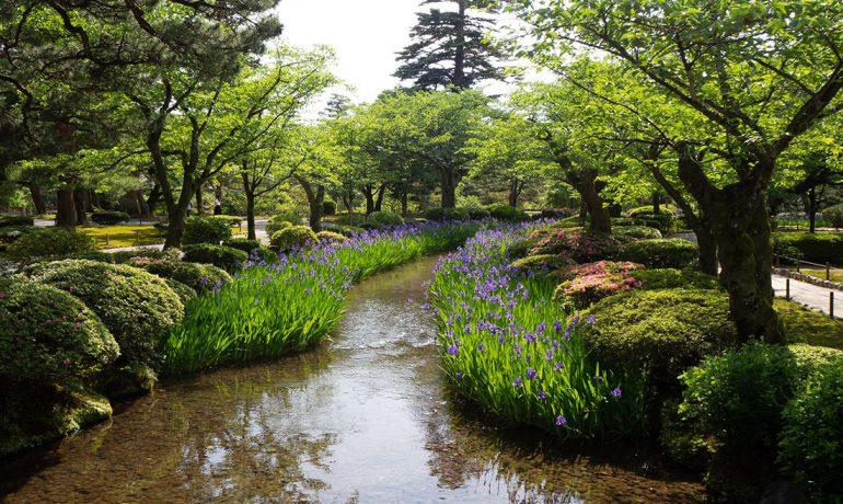 Кенрокуэн — сад в Японии, созданный быть совершенным