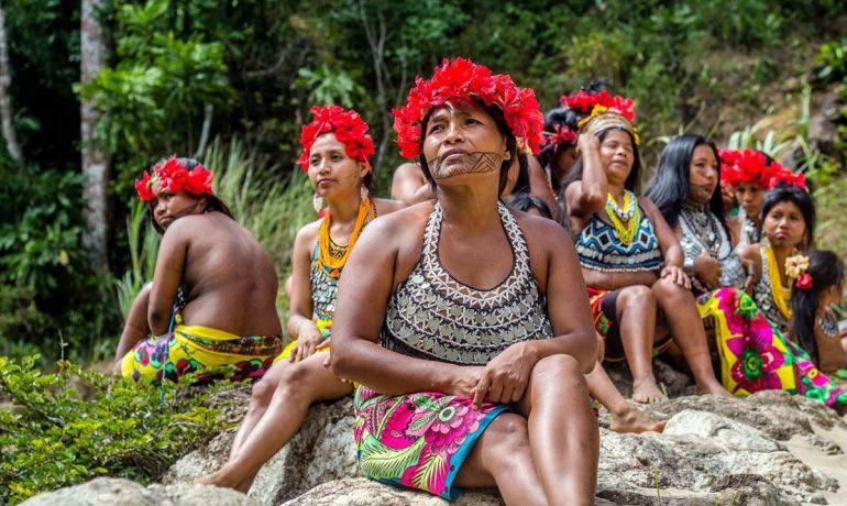 Необычный уклад жизни племени Куна в Панаме