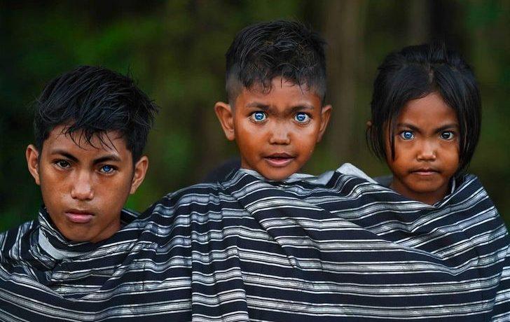 Как живёт племя с самыми необычными глазами