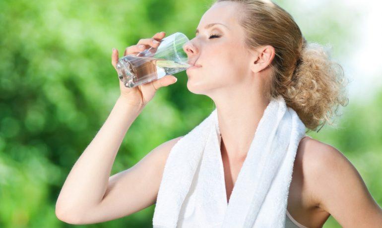 Питьевая вода и красота