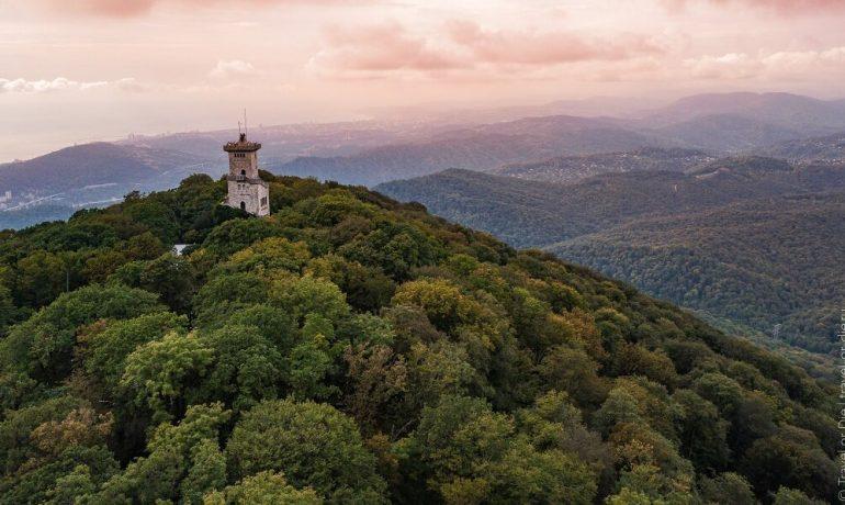 Башня на горе Ахун: рассказываем все самое интересное