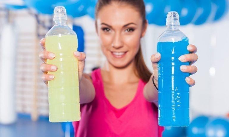 Изотонические напитки во время тренировки