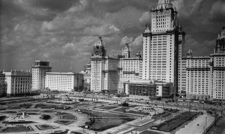Высотные здания сталинского времени. Москва