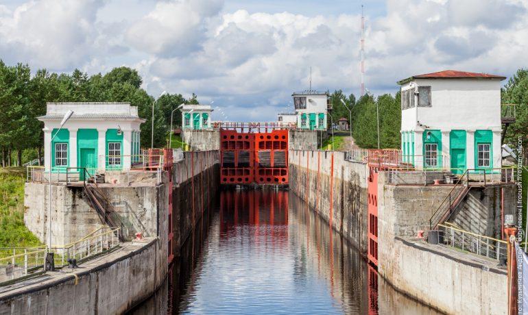 Городской комплекс шлюзов и каналов: Тверская область